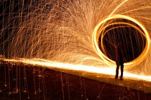 Portal of Fire by SonjaPhotography