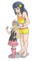 [Pokemon Diamond and Pearl] New Dawn by Display-This-Anyway