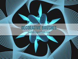 Decorative Brushes by xara24