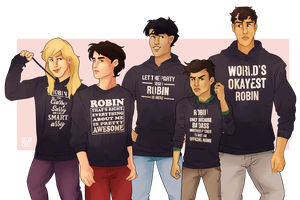 Robin Hoodies by FrenchiestToast