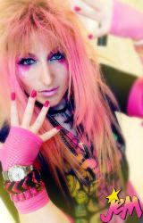 Jem and The Holograms by GingerAnneLondon