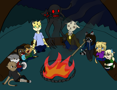 Campfire by CharoTheDawnClover