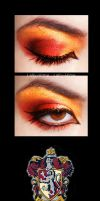Gryffindor Make Up by Lally-Hime