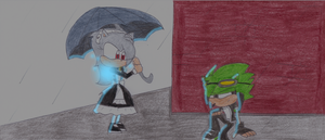 Marie Meets Matthew by SkullHog