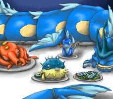 You wouldn't eat that Mudkip
