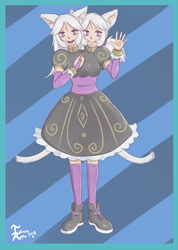 Cookie and Cream (Finalized Design) by InfiniteApple