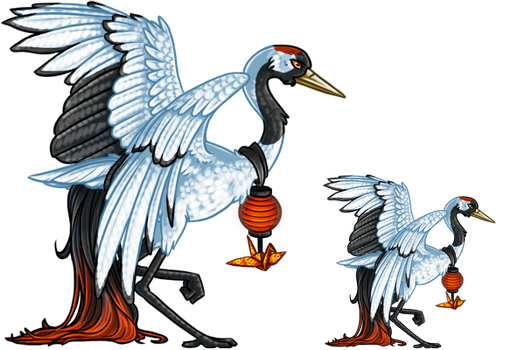 The Tsuru -Aywas SCC- by pidgepudge