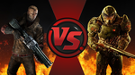 CFC|William J. Blazkowicz vs. Doomguy by Vex2001