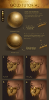 Gold Tutorial by CosmosKitty