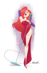 Jessica Rabbit by NickSwift