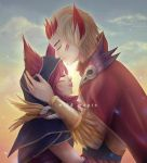 Xayah and Rakan - Wild Magic by irodesu