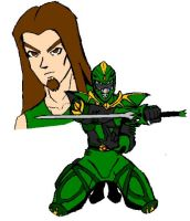 Tommy the Ultimate GreenRanger by Virtualist