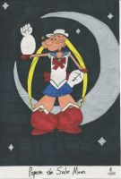 Popeye the Sailor Moon by TheOnyxSwami