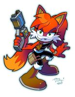 Ruby the Vixen by Tracey Yardley  Matt Herms by Arkus0