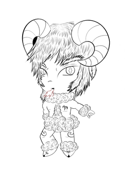 Aries -Chibi Zodiac Series by TobiAGoodBoy83