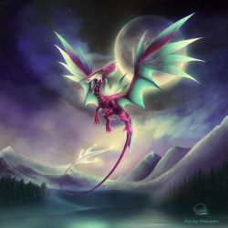 Dragon Feerico by Maucen