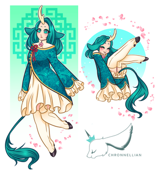 Suiko Reference by Chronnellian