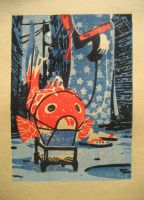 The Fish Lantern - print test by olivier2046