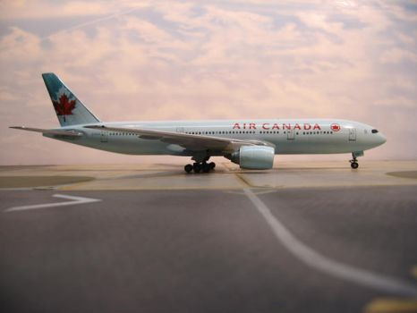 Taxi Out From Toronto by TomCatDriver
