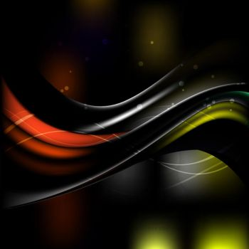 Black Wave Background Free Vector by 123freevectors