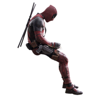 Deadpool - Transparent by Asthonx1