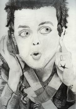 Billy Joe Armstrong by Mosty997
