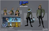 Sly 4 Production Art - Henchmen