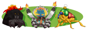 Bah Hum Bugs Adoptables [OPEN, PRICE REDUCED] by MeetTheGhost