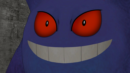 Fun with Gengar expressions by GuilTronPrime