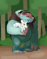 Troll and Friend by atomicman