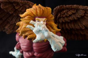 [Garage kit painting #09] Griffin bust - 025 by DasArt