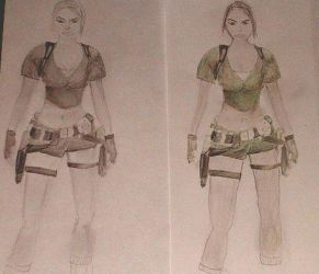 Lara Croft: Tomb Raider Legend by blue-diamant