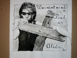 Bon Jovi pen and Ink by loosley