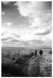 Walking the dog by nibbler-photo