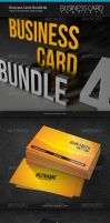 Business Cards Bundle 4 by artnook