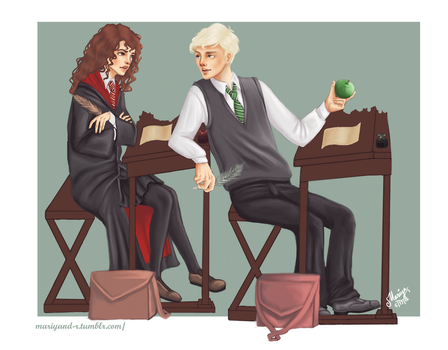 Dramione In Class. Final. by Mariyand-R