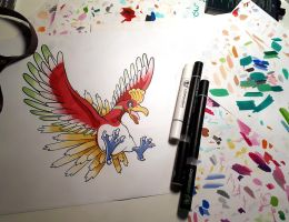 Ho-Oh by Kr1ger