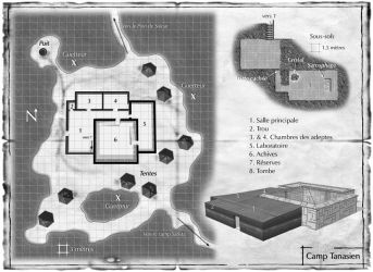 Talislanta - Tanasian camp - Ludopathes Editeurs by DePassage