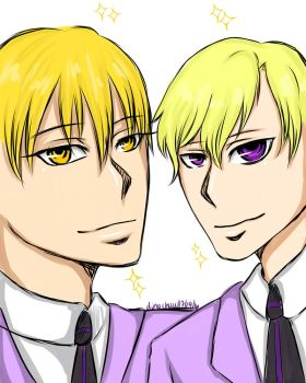 Kise x Tamaki Crossover by MoonLightSadness10