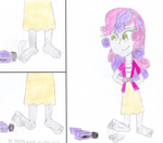 PC: Sweetie Belle Foot Tapping by ricol-wildcat