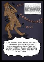 Layton 1st Werewolf Tf, From Gin93 Oneshot. P4 by wolfmarian