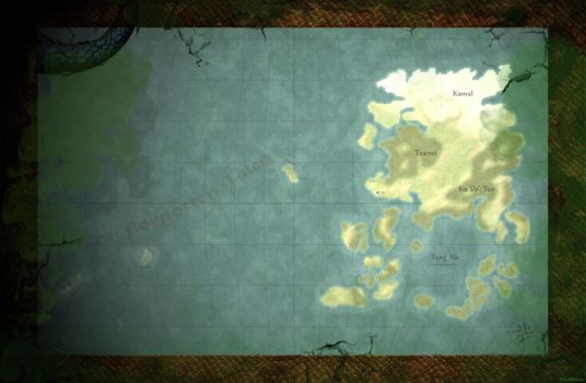 Map of Akavir [The Elder Scrolls Universe] by DwarfChieftain