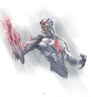Cyborg by COLOR-REAPER