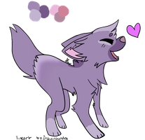 (Happy Puppy) Adoptable 2 *CLOSED* by alphawolf1212