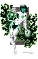 JLA's Jade by ToddNauck