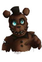 FNAF - Withered Freddy by LividCreativity