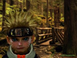 Naruto Forest  Untooned Papiel by curi222