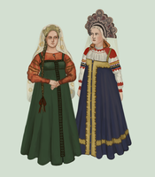 Russia 1840 (commoners) by Tadarida
