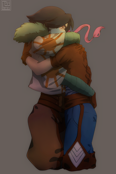 Meteora and Teo by Cheroy