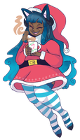 Happy holidays (stocking stuffer for Xlerotl) by Rogue-Incubi
